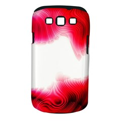 Abstract Pink Page Border Samsung Galaxy S III Classic Hardshell Case (PC+Silicone)