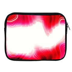 Abstract Pink Page Border Apple iPad 2/3/4 Zipper Cases