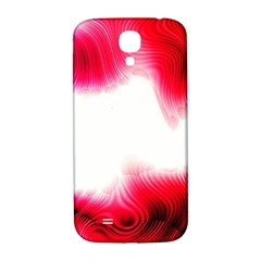 Abstract Pink Page Border Samsung Galaxy S4 I9500/I9505  Hardshell Back Case