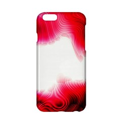 Abstract Pink Page Border Apple Iphone 6/6s Hardshell Case