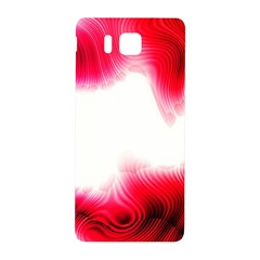 Abstract Pink Page Border Samsung Galaxy Alpha Hardshell Back Case