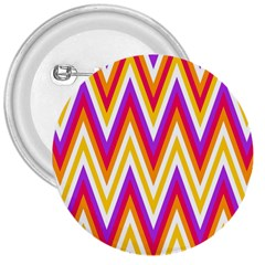 Colorful Chevrons Zigzag Pattern Seamless 3  Buttons