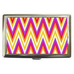 Colorful Chevrons Zigzag Pattern Seamless Cigarette Money Cases