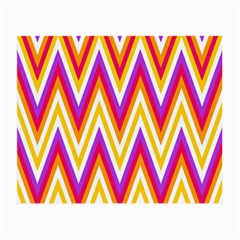 Colorful Chevrons Zigzag Pattern Seamless Small Glasses Cloth