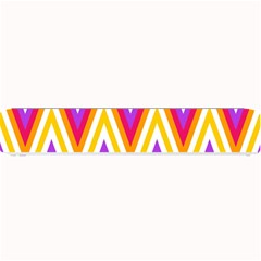 Colorful Chevrons Zigzag Pattern Seamless Small Bar Mats