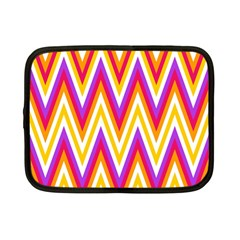 Colorful Chevrons Zigzag Pattern Seamless Netbook Case (Small)