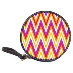 Colorful Chevrons Zigzag Pattern Seamless Classic 20 Cd Wallets