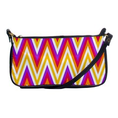 Colorful Chevrons Zigzag Pattern Seamless Shoulder Clutch Bags