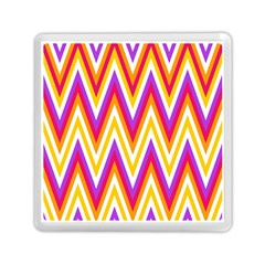 Colorful Chevrons Zigzag Pattern Seamless Memory Card Reader (square)