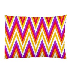 Colorful Chevrons Zigzag Pattern Seamless Pillow Case (Two Sides)