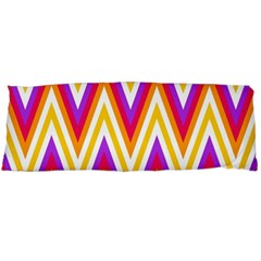 Colorful Chevrons Zigzag Pattern Seamless Body Pillow Case (dakimakura)