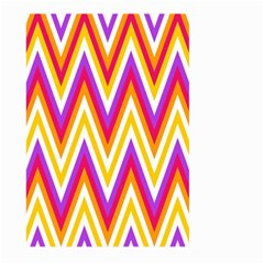 Colorful Chevrons Zigzag Pattern Seamless Large Garden Flag (Two Sides)