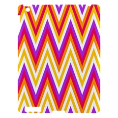 Colorful Chevrons Zigzag Pattern Seamless Apple iPad 3/4 Hardshell Case
