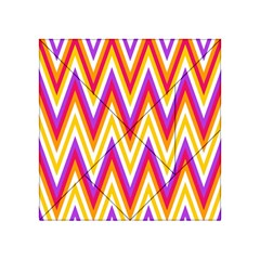 Colorful Chevrons Zigzag Pattern Seamless Acrylic Tangram Puzzle (4  x 4 )