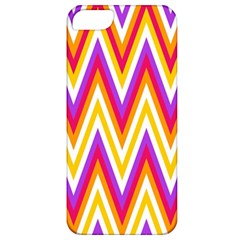 Colorful Chevrons Zigzag Pattern Seamless Apple iPhone 5 Classic Hardshell Case