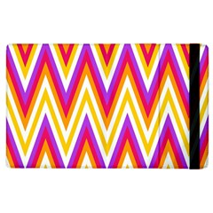 Colorful Chevrons Zigzag Pattern Seamless Apple iPad 3/4 Flip Case