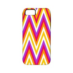 Colorful Chevrons Zigzag Pattern Seamless Apple Iphone 5 Classic Hardshell Case (pc+silicone)