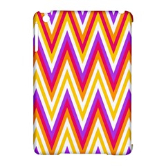Colorful Chevrons Zigzag Pattern Seamless Apple Ipad Mini Hardshell Case (compatible With Smart Cover)