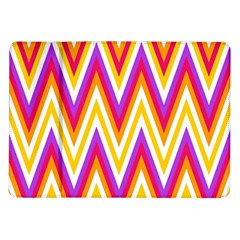 Colorful Chevrons Zigzag Pattern Seamless Samsung Galaxy Tab 10.1  P7500 Flip Case