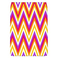 Colorful Chevrons Zigzag Pattern Seamless Flap Covers (L)