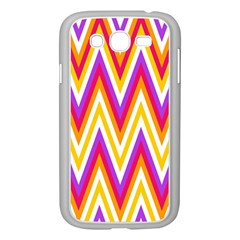 Colorful Chevrons Zigzag Pattern Seamless Samsung Galaxy Grand DUOS I9082 Case (White)