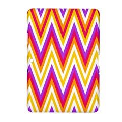 Colorful Chevrons Zigzag Pattern Seamless Samsung Galaxy Tab 2 (10 1 ) P5100 Hardshell Case