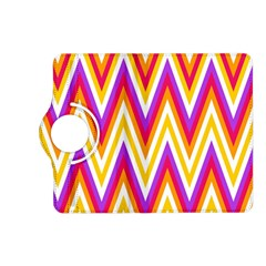 Colorful Chevrons Zigzag Pattern Seamless Kindle Fire HD (2013) Flip 360 Case