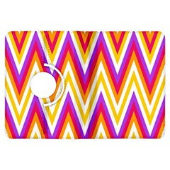 Colorful Chevrons Zigzag Pattern Seamless Kindle Fire HDX Flip 360 Case