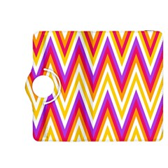 Colorful Chevrons Zigzag Pattern Seamless Kindle Fire HDX 8.9  Flip 360 Case