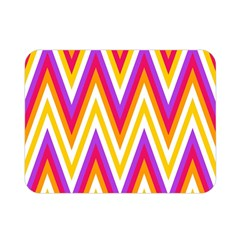 Colorful Chevrons Zigzag Pattern Seamless Double Sided Flano Blanket (Mini)