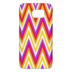 Colorful Chevrons Zigzag Pattern Seamless Galaxy S6