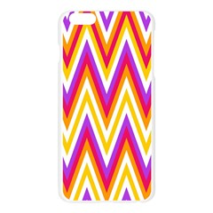 Colorful Chevrons Zigzag Pattern Seamless Apple Seamless iPhone 6 Plus/6S Plus Case (Transparent)