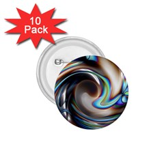 Twirl Liquid Crystal 1 75  Buttons (10 Pack)