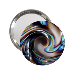 Twirl Liquid Crystal 2.25  Handbag Mirrors