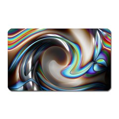 Twirl Liquid Crystal Magnet (Rectangular)
