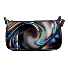Twirl Liquid Crystal Shoulder Clutch Bags