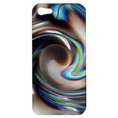 Twirl Liquid Crystal Apple iPhone 5 Hardshell Case