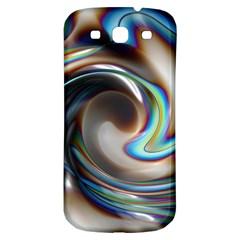 Twirl Liquid Crystal Samsung Galaxy S3 S Iii Classic Hardshell Back Case