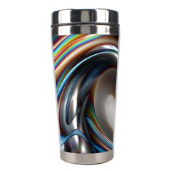 Twirl Liquid Crystal Stainless Steel Travel Tumblers