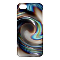 Twirl Liquid Crystal Apple iPhone 5C Hardshell Case
