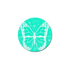 Butterfly Cut Out Flowers Golf Ball Marker (4 pack)