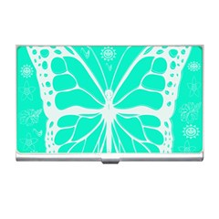 Butterfly Cut Out Flowers Business Card Holders