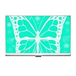 Butterfly Cut Out Flowers Business Card Holders Front