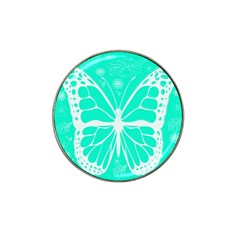 Butterfly Cut Out Flowers Hat Clip Ball Marker (4 Pack)