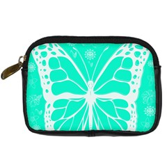 Butterfly Cut Out Flowers Digital Camera Cases