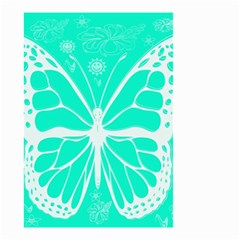 Butterfly Cut Out Flowers Small Garden Flag (two Sides)
