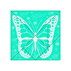 Butterfly Cut Out Flowers Acrylic Tangram Puzzle (4  x 4 )