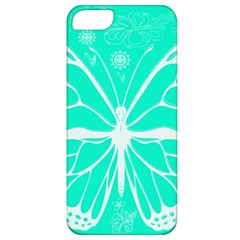 Butterfly Cut Out Flowers Apple Iphone 5 Classic Hardshell Case