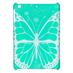 Butterfly Cut Out Flowers Apple iPad Mini Hardshell Case
