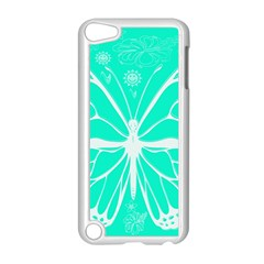 Butterfly Cut Out Flowers Apple Ipod Touch 5 Case (white)
